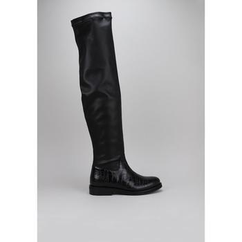 Chaussures Femme Cuissardes Roberto Torretta INFINITY BOOTS Noir
