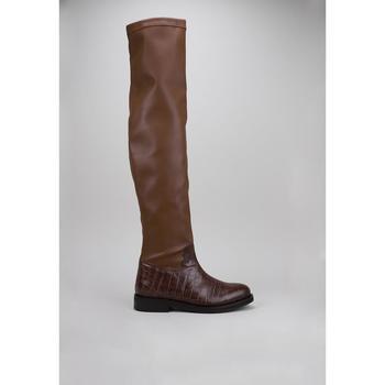 Chaussures Femme Cuissardes Roberto Torretta INFINITY BOOTS Marron