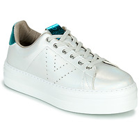 Chaussures Femme Baskets basses Victoria BARCELONA METAL Blanc