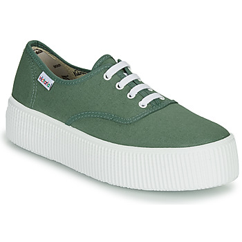 Chaussures Femme Baskets basses Victoria DOBLE LONA Vert