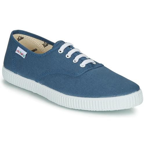 Chaussures Baskets basses Victoria INGLESA LONA Bleu