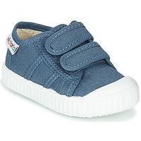 Chaussures Enfant Baskets basses Victoria BASKET VELCRO Bleu