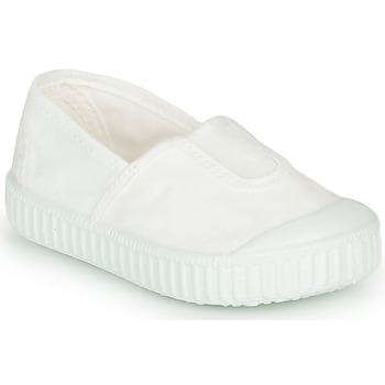 Chaussures Fille Baskets basses Victoria CAMPING TINTADO Blanc