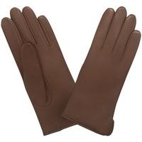 Accessoires textile Femme Gants Glove Story Gants cuir  ref_24305 Camel Marron