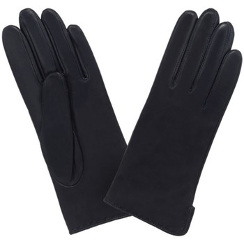 Accessoires textile Femme Gants Glove Story Gants cuir  ref_24305 Noir Noir