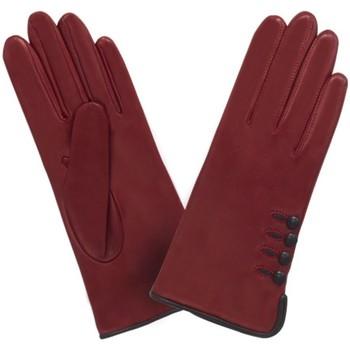Accessoires textile Femme Gants Glove Story Gants cuir  ref_23659 602 Rouge Rouge