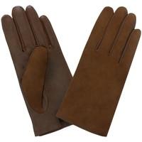 Accessoires textile Femme Gants Glove Story Gants cuir  ref_47574 360 Camel Marron