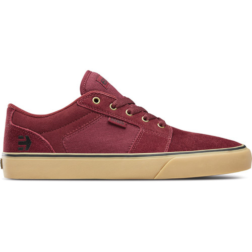 Chaussures Baskets basses Etnies BARGE LS BURGUNDY TAN