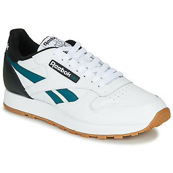 Chaussures Homme Baskets basses Reebok Classic CL LEATHER MU Blanc / Noir