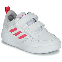 Chaussures Fille Baskets basses adidas Performance TENSAUR C Blanc / rose