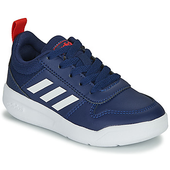 Chaussures Enfant Baskets basses adidas Performance TENSAUR K Bleu / blanc