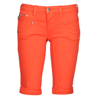 Vêtements Femme Shorts / Bermudas Freeman T.Porter BELIXA NEW MAGIC COLOR Orange