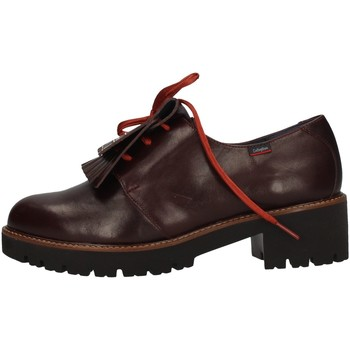Chaussures Femme Derbies CallagHan 13426 rouge