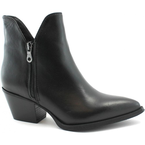 Chaussures Femme Bottines Divine Follie DIV-I19-FIAMMA-NE Nero