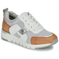 Chaussures Femme Baskets basses Caprice BEBENE Blanc / Camel