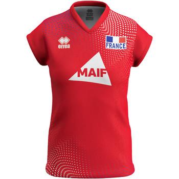 Vêtements Femme T-shirts manches courtes Errea Maillot femme third Equipe de france 2020 rouge