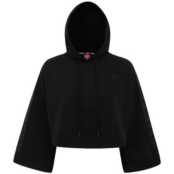 Vêtements Femme Sweats Kappa Sweatshirt femme  Authentic Allas noir