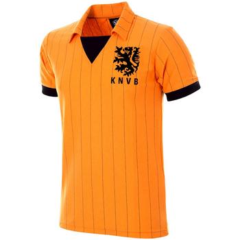 Vêtements Homme Polos manches courtes Copa Football Maillot rétro Pays-Bas 1983 orange