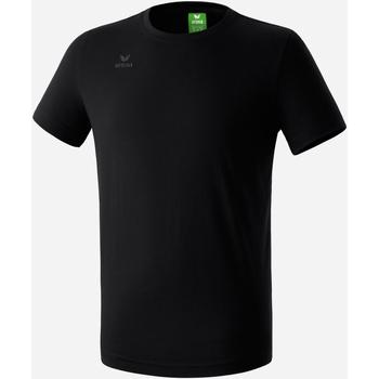 Vêtements Garçon T-shirts manches courtes Erima T-shirt  Teamsport noir