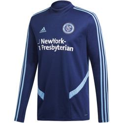 Vêtements Homme Sweats adidas Originals Sweatshirt New York City FC Training ciel nuit/bleu clair