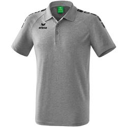 Vêtements Polos manches courtes Erima Polo  5-C Essential gris