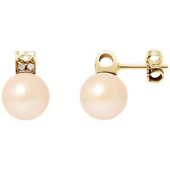 Montres & Bijoux Femme Boucles d'oreilles Blue Pearls BPS K627 W Multicolore