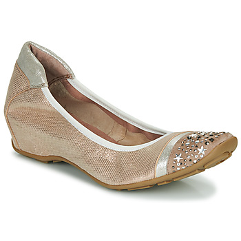 Chaussures Femme Ballerines / babies Mam'Zelle FETE Nude