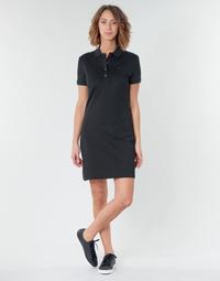 Vêtements Femme Robes courtes Lacoste GAIL Noir