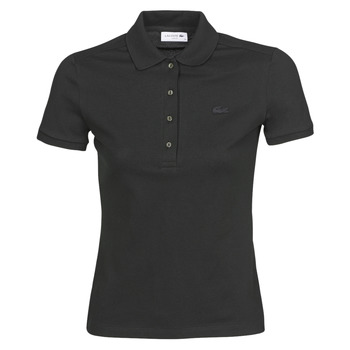 Vêtements Femme Polos manches courtes Lacoste PH5462 SLIM Noir