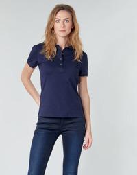 Vêtements Femme Polos manches courtes Lacoste PH5462 SLIM Marine