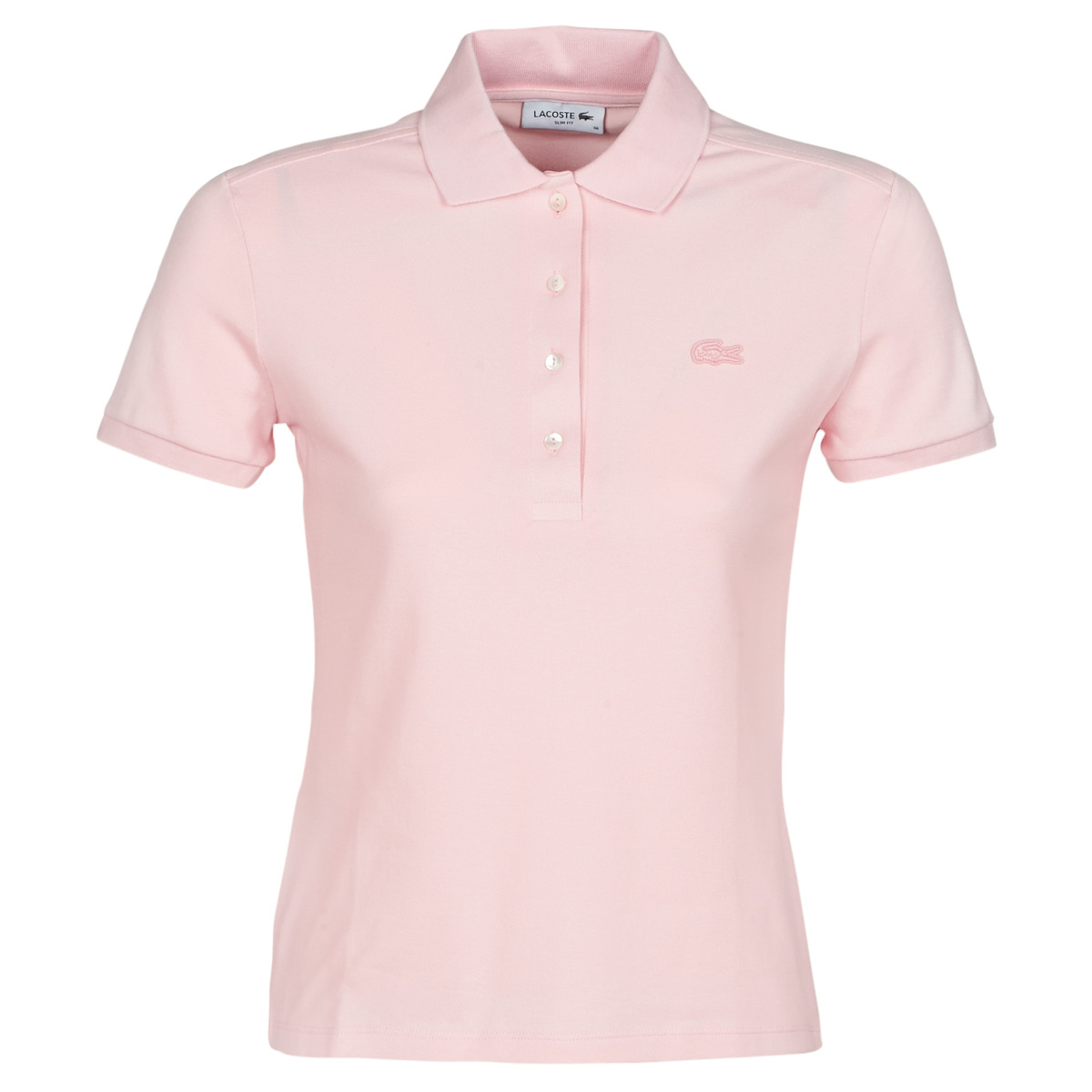 Lacoste PH5462 SLIM Rose - Vêtements Polos