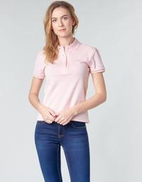 Vêtements Femme Polos manches courtes Lacoste PH5462 SLIM Rose