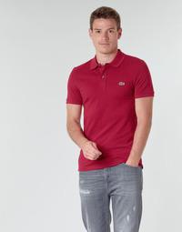 Vêtements Homme Polos manches courtes Lacoste PH4012 SLIM Bordeaux