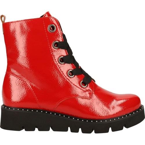 r8073  Remonte Dorndorf  boots  femme  rouge