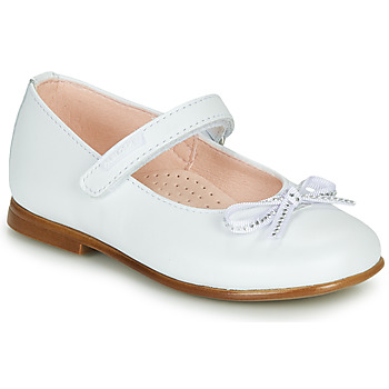 Chaussures Fille Ballerines / babies Pablosky  Blanc