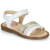 Chaussures Fille Sandales et Nu-pieds Pablosky PINNA Blanc / Nacre