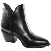 Chaussures Femme Bottines Divine Follie TEXAN NOIR FIAMMA1015 Noir