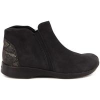 Chaussures Femme Bottines Arcopedico ISABEL NUBUCK NEGRO Botín