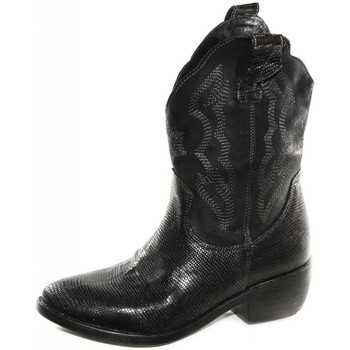Chaussures Femme Bottines Divine Follie TEXAN NOIR 48298 Noir