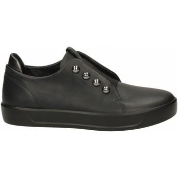 Chaussures Femme Slip ons Ecco Soft 8 W BlackBlack Dark Shadow Metalli metallico-scuro