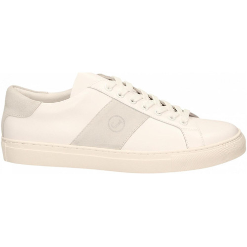 Chaussures Homme Baskets basses Jeckerson NAPPA bianco