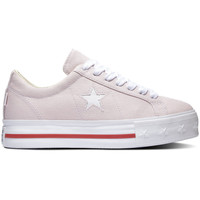 Chaussures Femme Baskets basses Converse One star platform ox Rose