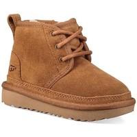 Chaussures Garçon Bottes de neige Ugg Australia Kids 1017320-CHE Beige