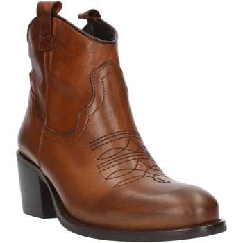 Chaussures Femme Bottines Exton MZ40 cuir