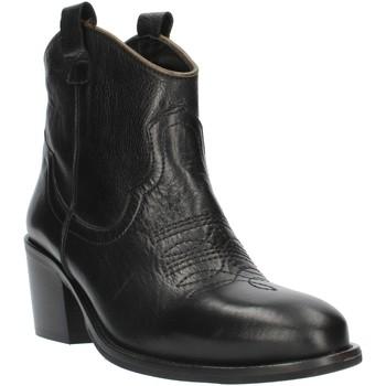 Chaussures Femme Bottines Exton MZ40 Noir