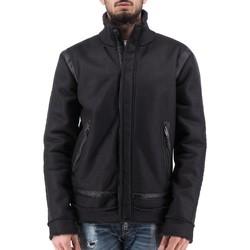 Vêtements Homme Blousons Daniele Alessandrini Veste de sieste noire  DALI812439 Noir