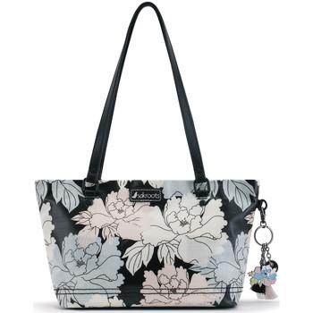 Sacs Femme Cabas / Sacs shopping Sakroots Mini Besace Black Peony