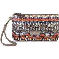 Sacs Femme Pochettes / Sacoches Sakroots CHARGING  WRISTLET Camel