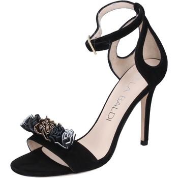 Chaussures Femme Sandales et Nu-pieds Lella Baldi sandales daim noir