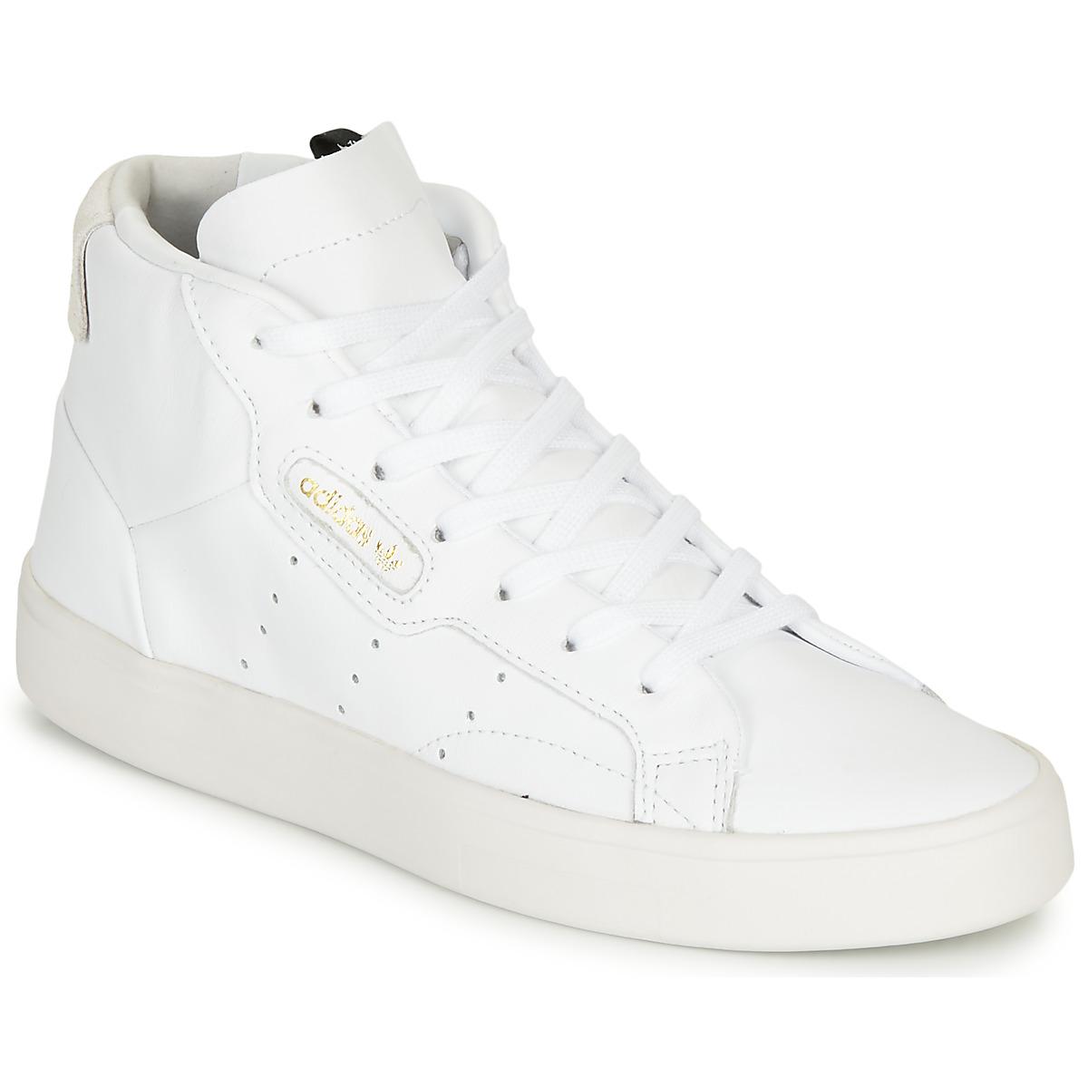 adidas sleek w blanche